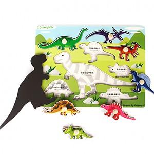 손잡이 퍼즐-공룡