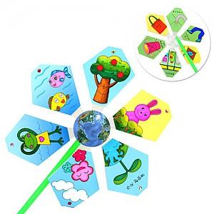 지구환경보호 바람개비 - 10개