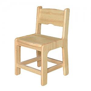고무나무 국내제작 원목의자